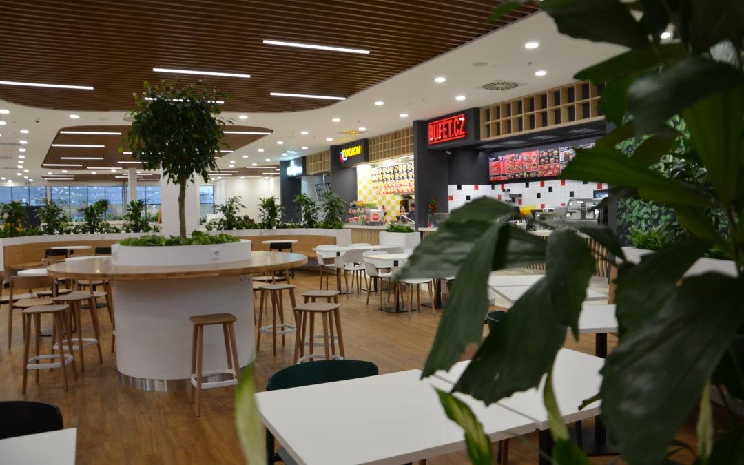 Olympie – nová jídelní zóna