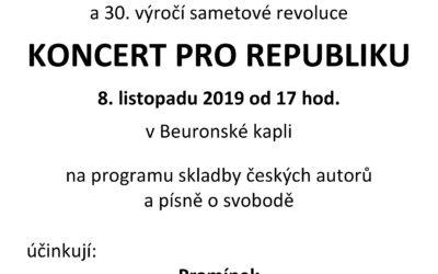 Koncert pro republiku k 101. výročí vzniku ČSR