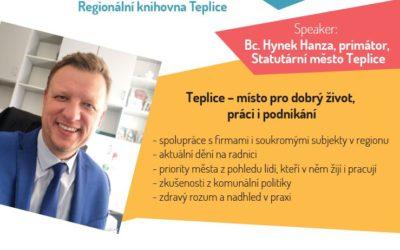 9. ročník Na poradu VČAS s Bc. Hynkem Hanzou, primátorem města Teplice.