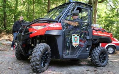 Nové terénní auto pro dobrovolné hasiče
