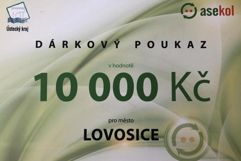 Město Lovosice bylo první v třídění elektroodpadu