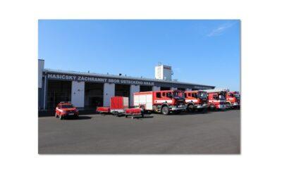 Požární stanici ve Strategické průmyslové zóně Triangle vlastní krajští hasiči