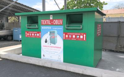 Litoměřice: přes 114 tun odevzdaného textilu a obuvi pomůže potřebným