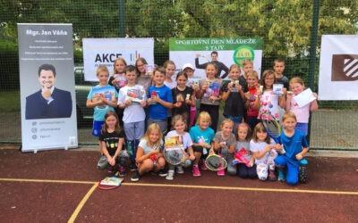 Sportovní den mládeže s Tenisovou Akademií Jana Váni v Trmicích