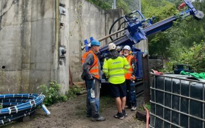 Ústí nad Labem: práce na zajištění svahu Čertovka ve Vaňově pokračují