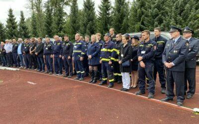 Ústecký kraj předal dobrovolným hasičům dary za téměř tři miliony