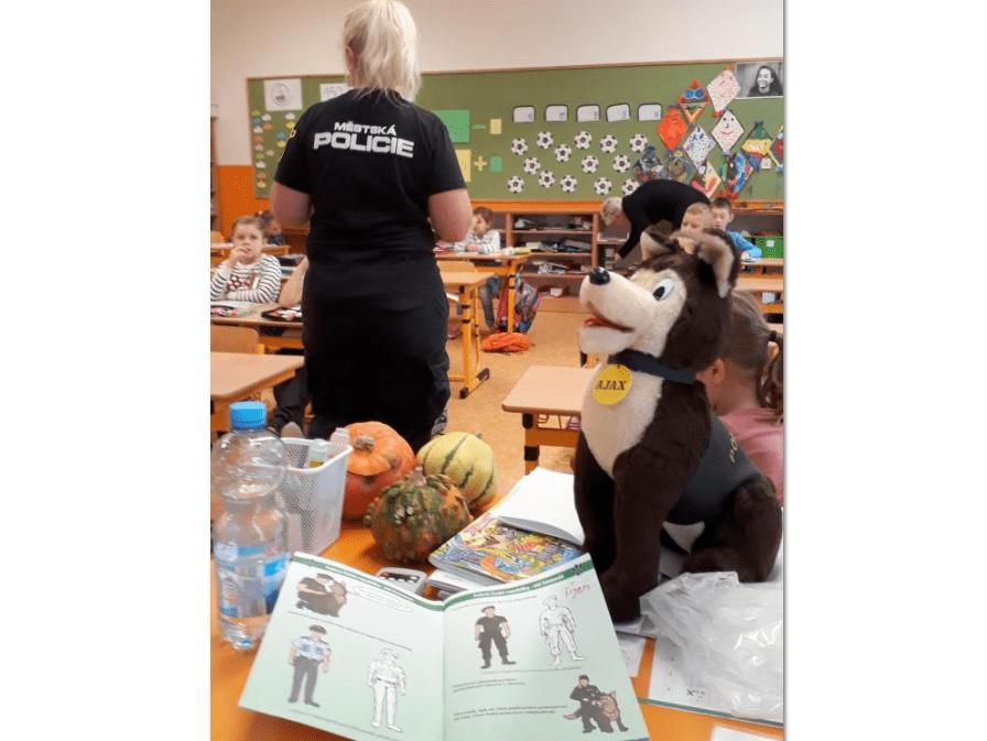 Přednášky na školách v rámci prevence kriminality